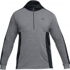 Sweat capuche 1/2 zip Terry Threadborne™ Under Armour anthracite