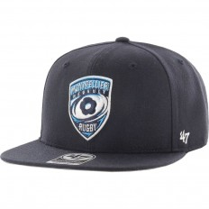 Casquette SnapBack Captain Montpellier Hérault Rugby '47 marine