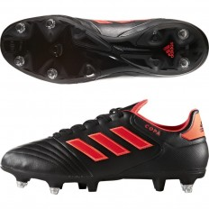 Chaussures Copa 17.2 SG Adidas noir rouge