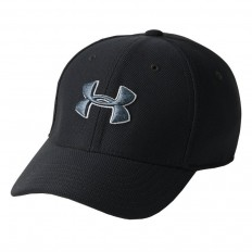 Casquette enfant Blitzing 3.0 Under Armour noir carbone