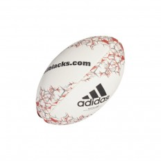 Mini Ballon All Blacks NZRU 2018 Adidas blanc rouge