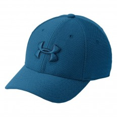 Casquette enfant Blitzing Heather 3.0 Under Armour bleu imprimé
