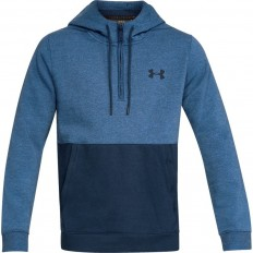 Sweat capuche 1/2 zip Threadborne™ Under Armour bleu marine
