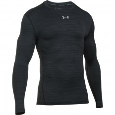 Tee shirt Twist Compression ColdGear® LS Under Armour noir