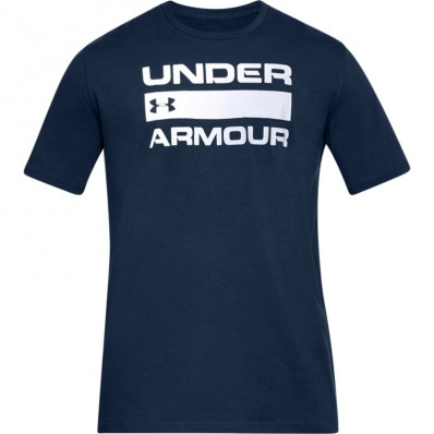 Tee shirt UA Team Issue Wormark Under Armour marine