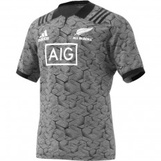 Maillot entraînement All Blacks 2018 Adidas gris