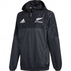 Veste All Weather All Blacks 18 Adidas noir gris foncé