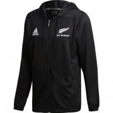 Sweat Hoody zippé All Blacks 18 Adidas noir