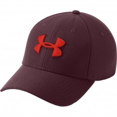 Casquette Blitzing 3.0 Under Armour bordeaux rouge