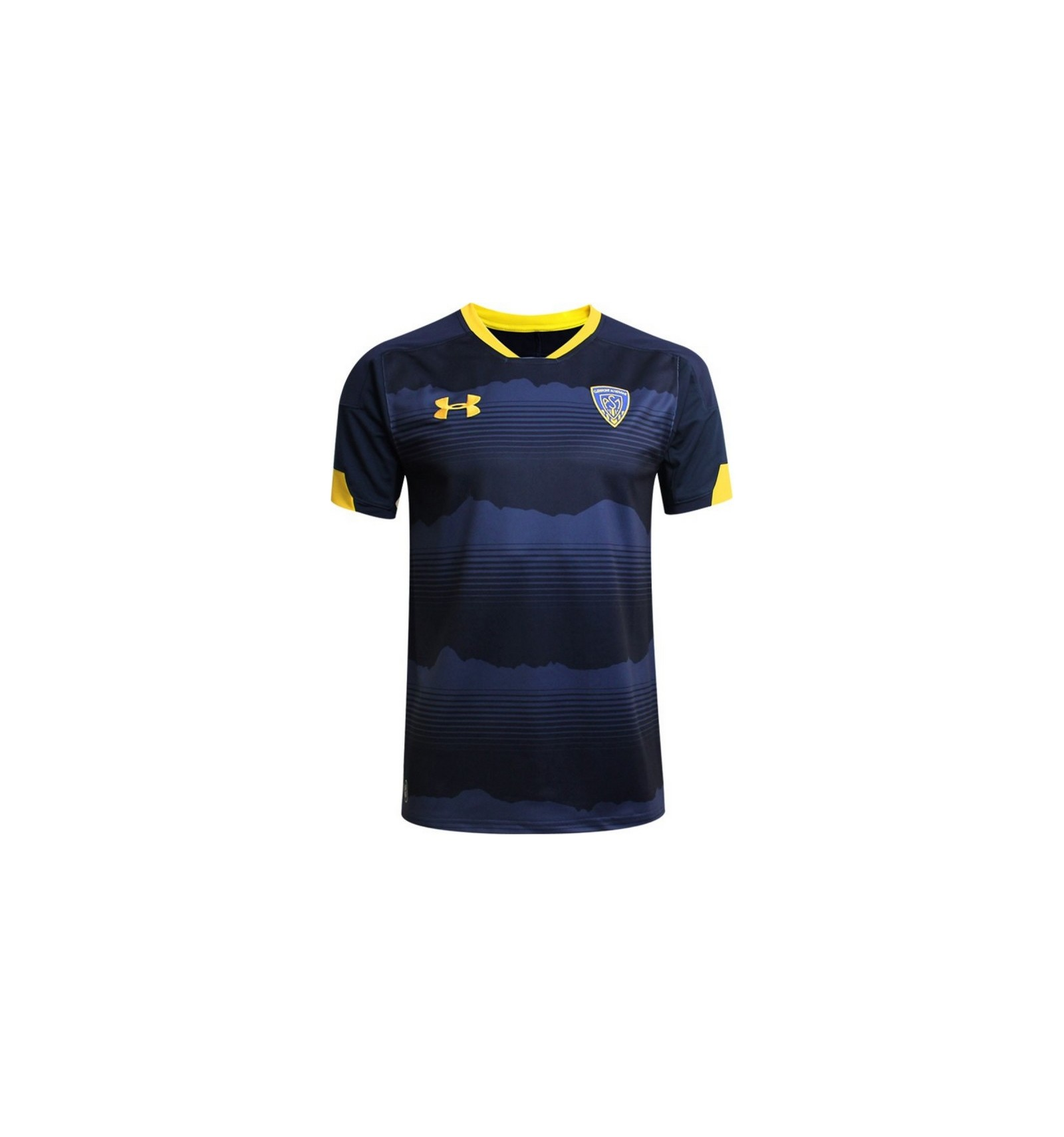 on sale 647a7 189fd Maillot Supporter ASM Clermont 2018-19 Under Armour marine