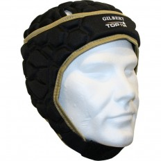 Casque rugby Top 14 Falcon 200 Gilbert noir or