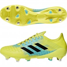Chaussures Predator Malice Control SG 18 Adidas jaune noir turquoise