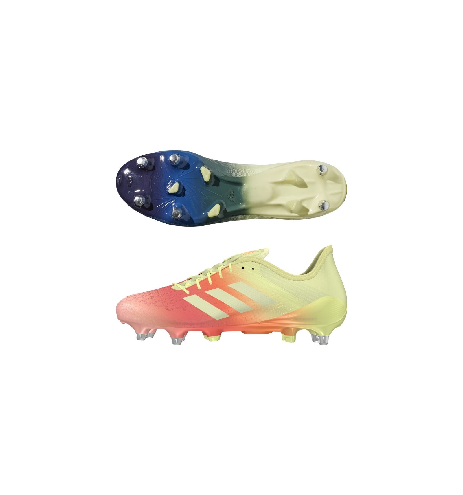 online store 3f85d 98157 Chaussures Predator Malice Control SG 18 Adidas jaune rouge bleu
