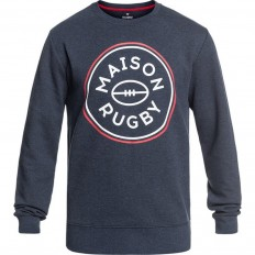 Sweat homme Canal Rugby Division marine