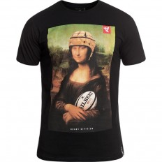 Tee shirt Mona Rugby Division noir