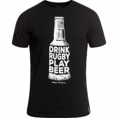 Tee shirt Vedette Rugby Division noir
