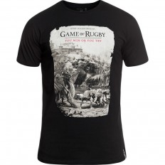 Tee shirt Games Rugby Division noir