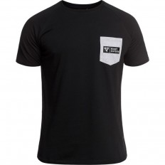 Tee shirt Hunter Rugby Division noir