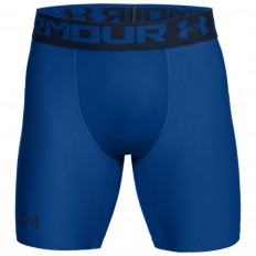 Short Compression Armour HeatGear® 2.0 Under Armour bleu roi noir
