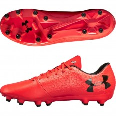 Chaussures UA Magnetico Select FG Under Armour rouge