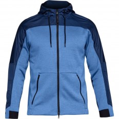 Veste capuche Swacket Unstoppable ColdGear Under Armour marine ciel