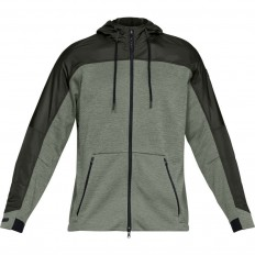 Veste capuche Swacket Unstoppable ColdGear Under Armour kaki vert