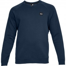 Sweat Rival Fitted Crew Under Armour marine