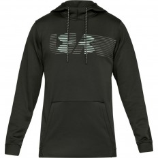 Sweat capuche Armour Fleece Spectrum PO Under Armour vert foncé