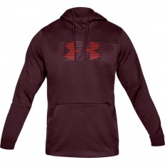 Sweat capuche Armour Fleece Spectrum PO Under Armour bordeaux