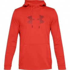 Sweat capuche Armour Fleece Spectrum PO Under Armour rouge