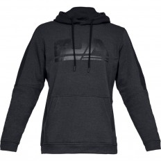 Sweat capuche Threadborne™ Fleece Graphic Under Armour noir