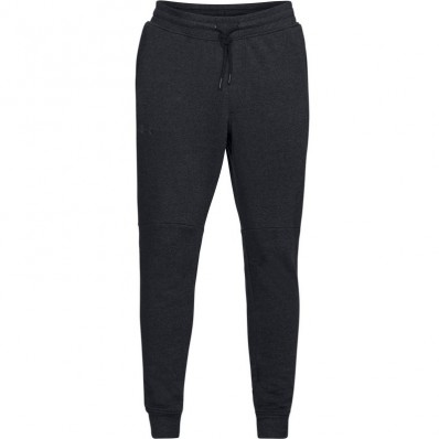 Pantalon jogging Threadborne™ Fleece Jogger Under Armour noir