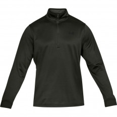 Sweat 1/2 zip Armour Fleece Under Armour vert foncé