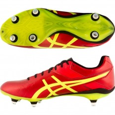 Chaussures Lethal Speed ST Asics rouge jaune