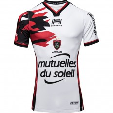 Maillot RCT Toulon third 2018-19 Hungaria blanc rouge noir
