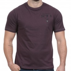 Tee shirt homme manche courte N°8 We Are Rugby Ruckfield violet