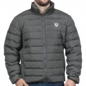 Doudoune homme French Rugby Club Ruckfield gris chiné