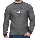 Sweat shirt léger col rond Rugby Camp Ruckfield gris