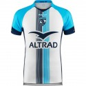 Maillot Kombat Montpellier Hérault Rugby extérieur 2018-19 Kappa blanc
