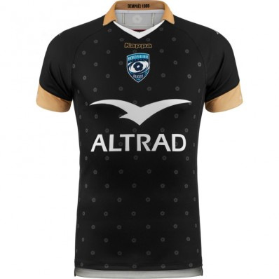 Maillot Kombat Montpellier Hérault Rugby third 2018-19 Kappa noir or