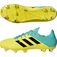 Chaussures Malice SG Adidas jaune noir turquoise