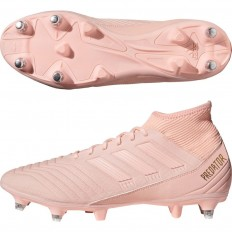 Chaussures Predator 18.3 SG Adidas orange rose orange