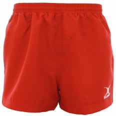 Short rugby Saracen Gilbert rouge