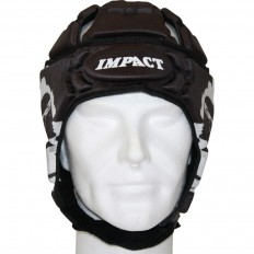 Casque rugby V2 Corse Impact noir blanc