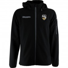 Veste Softshell Valas Rugby Olympique Lunellois Kappa noir