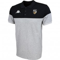 Polo Pianetti Rugby Olympique Lunellois Kappa gris noir