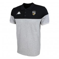 Polo enfant Pianetti Rugby Olympique Lunellois Kappa gris noir