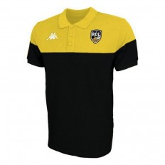 Polo enfant Pianetti Rugby Olympique Lunellois Kappa jaune noir
