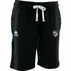 Short Bermuda Bastina Rugby Olympique Lunellois Kappa noir