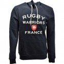 Sweat capuche homme 15 de France Rugby Warriors marine